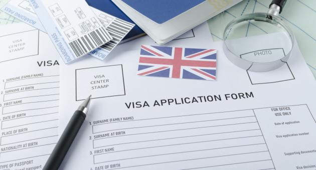 Образец заполнения визы в Англию: помощь юриста